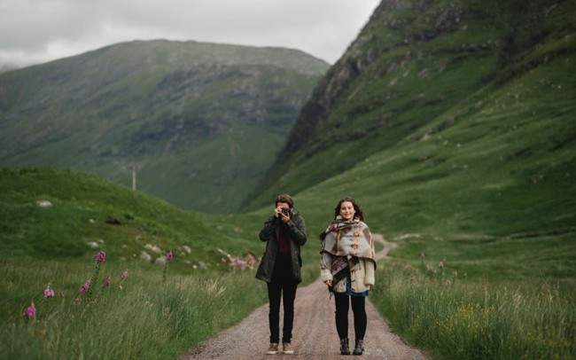 Glencoe Couples Shoot