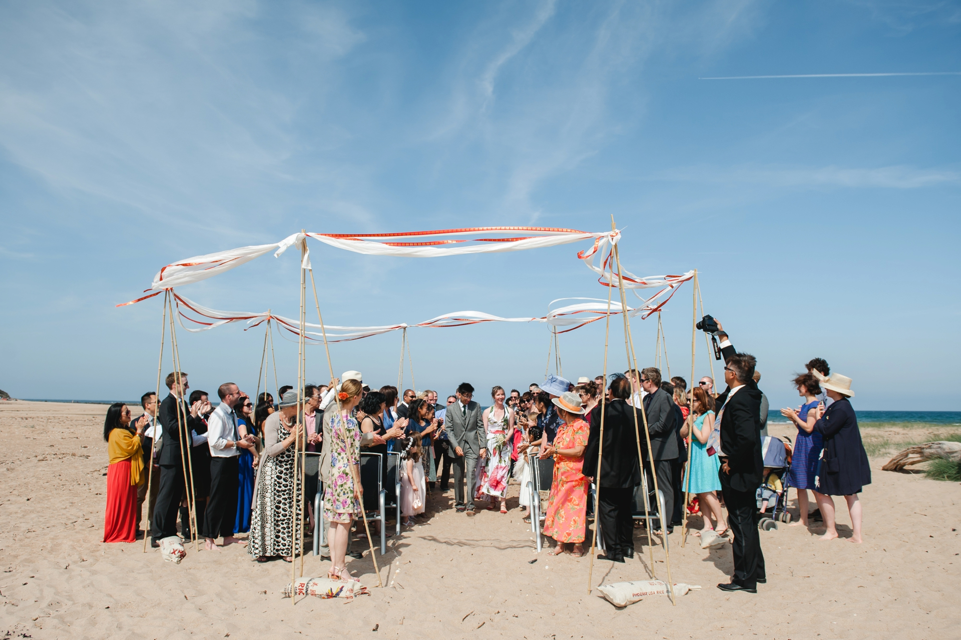 Tyninghame Beach Wedding