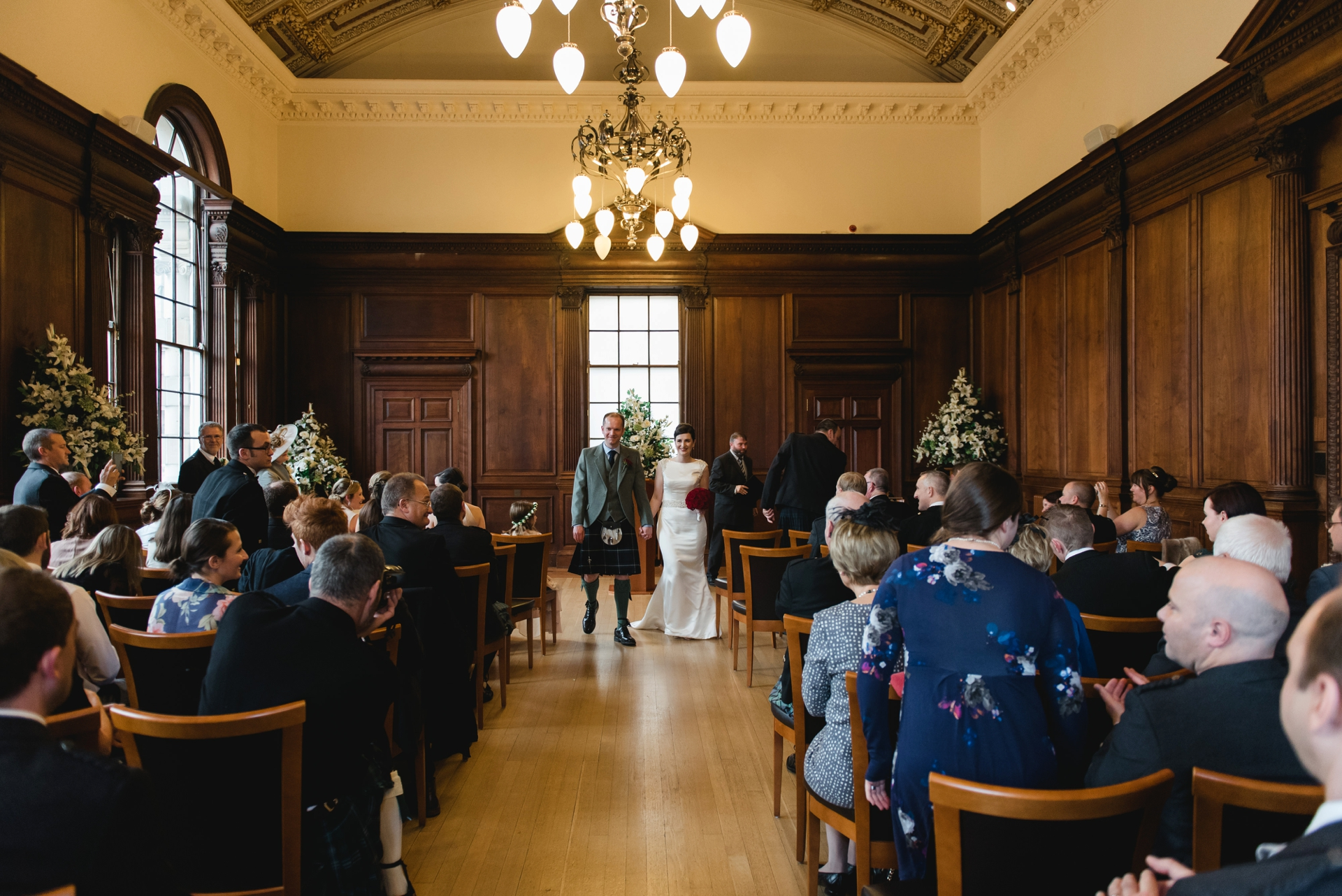 Edinburgh City Chambers Wedding In November Mack Photo