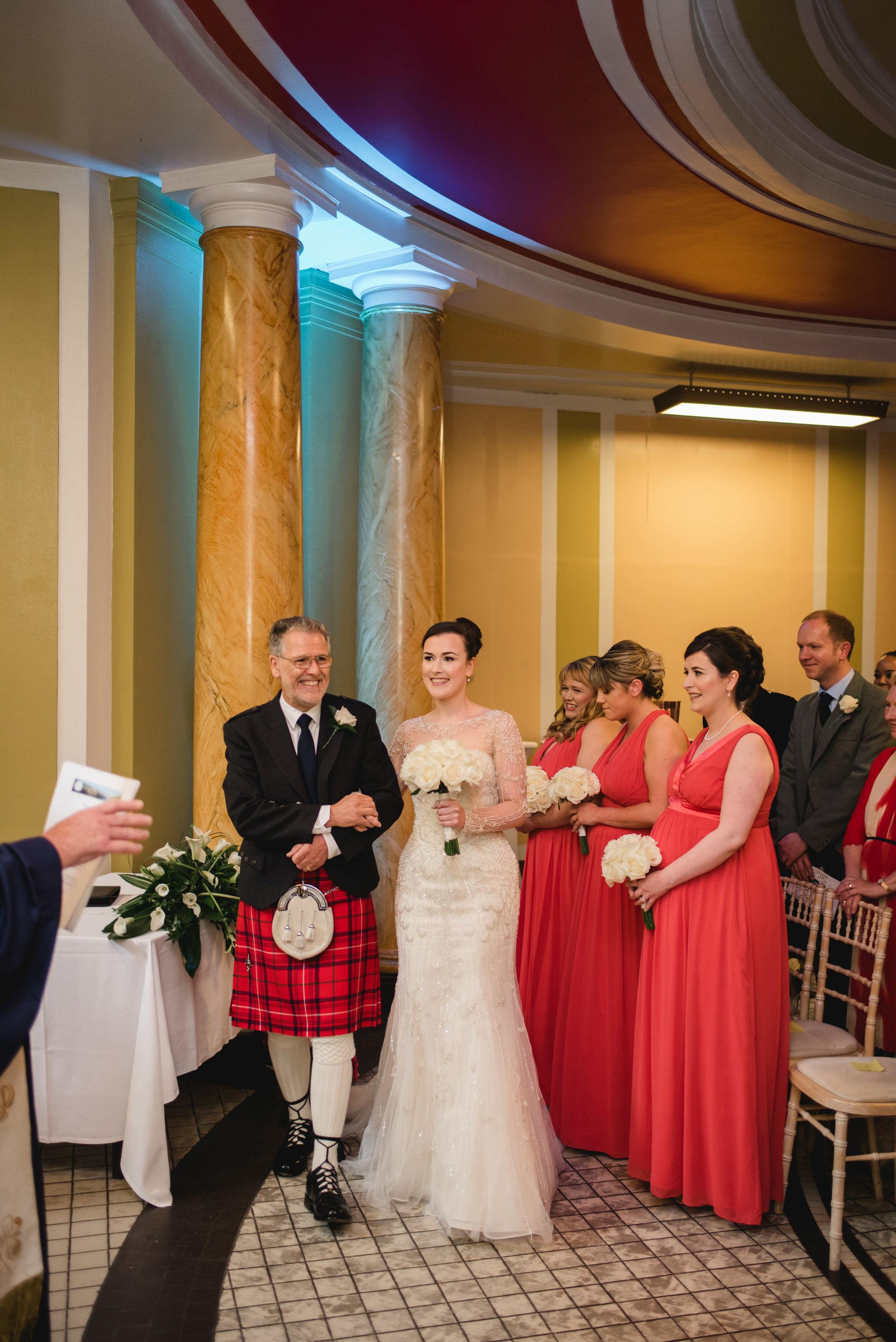 Leith Theatre Wedding