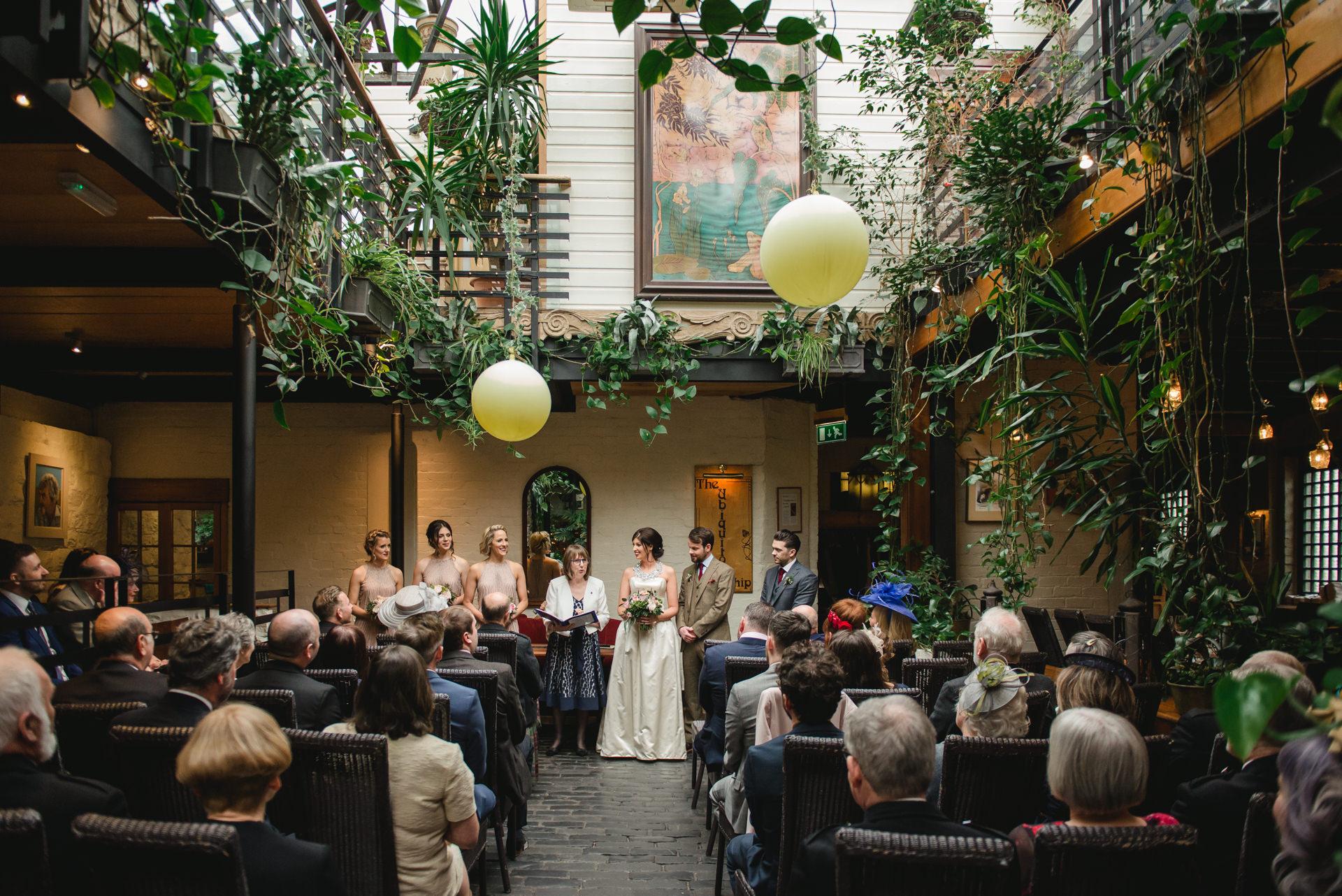 Ubiquitous chip wedding