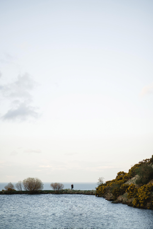 Arthur's Seat engagment shoot,Dovecot Studios,Edinburgh Wedding Photographer,Lindsey Mackenzie Parker,Scottish Wedding Photographer,Sunayna and Matt,sunset couples shoot,sunset engagement shoot,