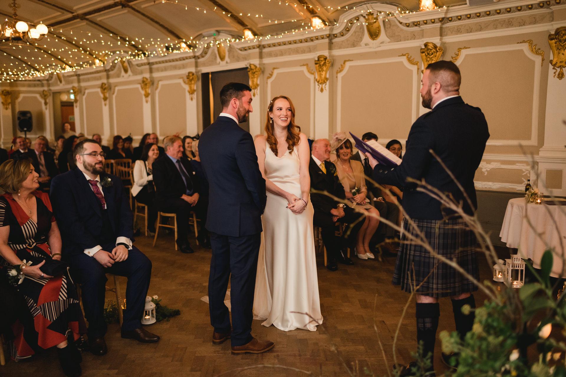 Sloans wedding ceremony